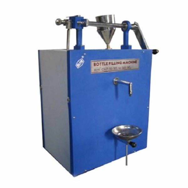 KPH-132 HAND OPERATED BOTTLE FILLING MACHINE FOR UPTO 250ML.